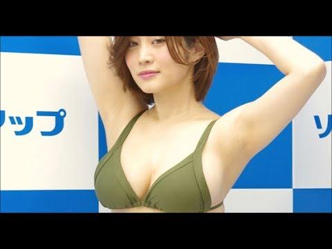 【グラビアアイドル】軟乳グラドル・橘花凛「パッと見、裸(笑) …