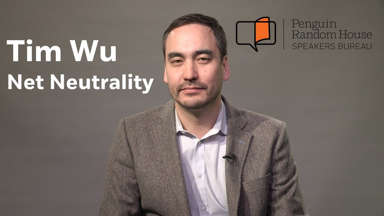 Author Tim Wu on Net Neutrality