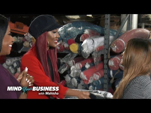 Mahisha Sets Up Maxie with a Clothing Manufacturer | Mind Your Business with Mahisha | OWN