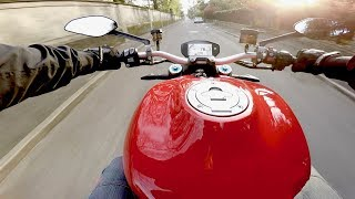 8. 2017 Ducati Monster 1200 S (150 hp) - POV & Engine Sound (ENG.SUBS)