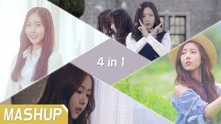 GFRIEND_4 in 1 MASHUP (2018 3rd Anniversary ver.) / 3주년 기념 매쉬업