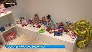 Voluntários arrecadam brinquedos para o Dia das Crianças e Natal