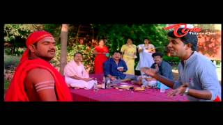 Siva Reddy As Fake Baba - Superb Comedy Scene