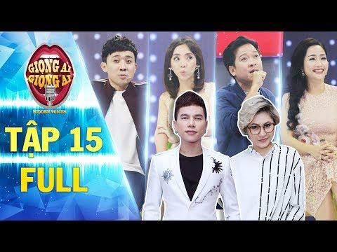 Giọng ải giọng ai 2 tập 15 full Hoàng Tôn, Vicky Nhung