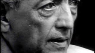 The Real Revolution - starts with us - Jiddu Krishnamurti (sociology, psychology, philosophy)