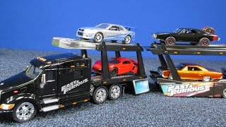 Nonton Fast & Furious Peterbilt Model 387 Hauler and Car Carrier From Jada Jada Toys Film Subtitle Indonesia Streaming Movie Download