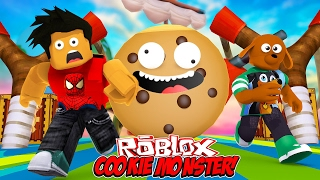 THE GREAT ESCAPE FROM THE COOKIE MONSTER - Donut the Dog Roblox