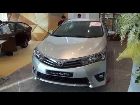 Chi tiết Toyota Corolla Altis 2014 tại Việt Nam