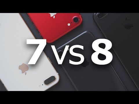 Video Comparison: iPhone 8 and 8 Plus vs. <b>iPhone 7</b> and 7 Plus