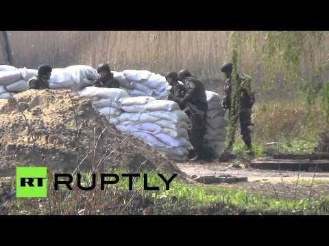 Соединения Национальной гвардии Украины продвигаются к Славянску