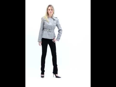 Impermeabile corto a giacca da donna (Cod.Art. 000362)