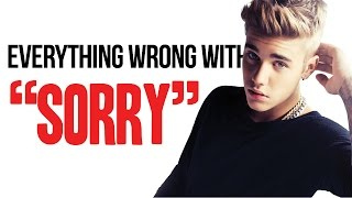 """Video Everything Wrong With Justin Bieber - """"Sorry"""" MP3, 3GP, MP4, WEBM, AVI, FLV Juni 2018"""