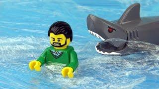 Video Lego Shark Attack MP3, 3GP, MP4, WEBM, AVI, FLV Juni 2018