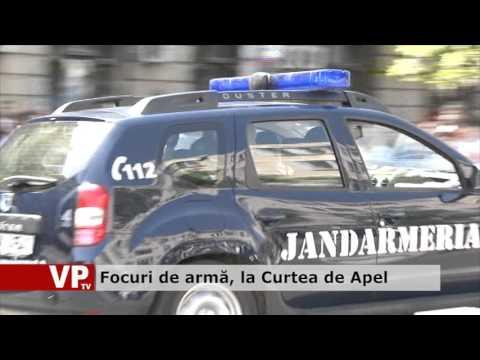 Focuri de armă, la Curtea de Apel Ploiești