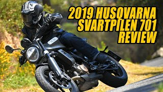 9. 2019 Husqvarna Svartpilen 701 Video Review
