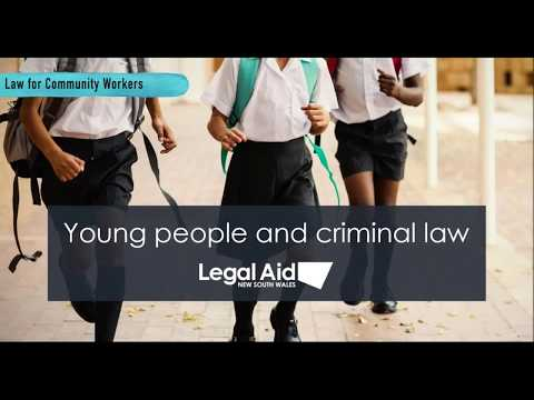 Young people and criminal law