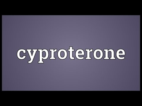 Cyproterone Meaning