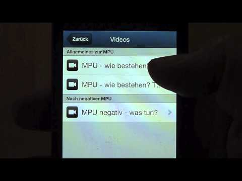 Video of MPU-Hilfe