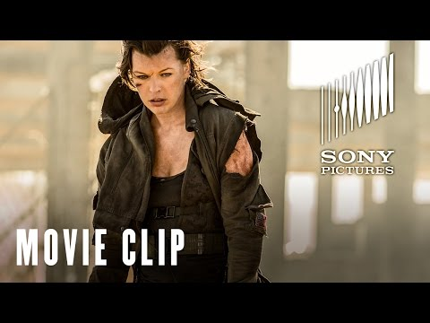 Resident Evil: The Final Chapter (Clip 'Is That All You Got')