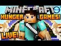"Minecraft HUNGER GAMES - LIVE w/ Ali-A! - ""LIVESTREAM!"""