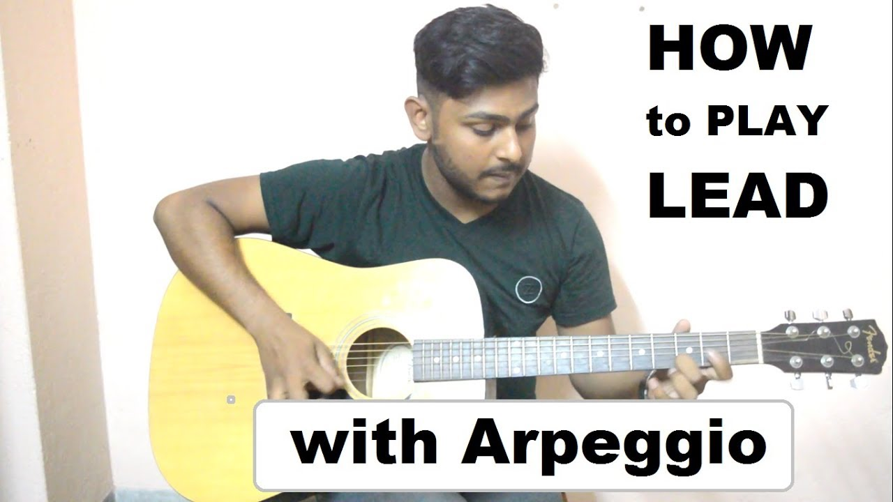 Arpeggio 2nd shape-how to play lead-Advanced tutorial 2