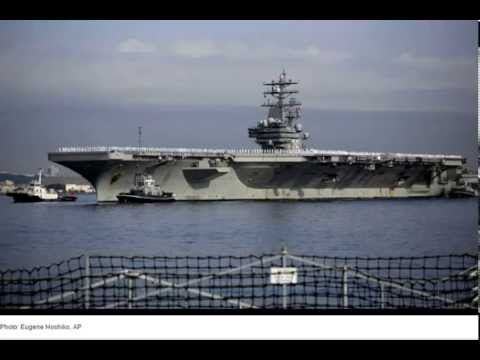 Ronald Reagan Battle Carrier Back in Japan With Warm Welcomes