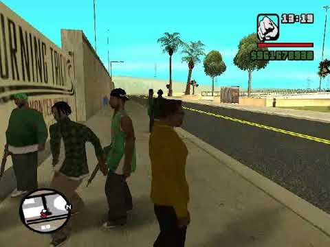 GTA San Andreas Funny Quotes Ballas and Grove street