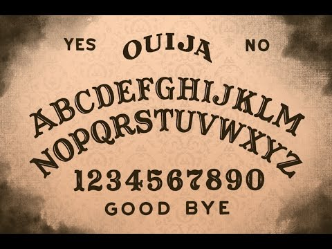 la strana tavoletta per comunicare con gli spiriti