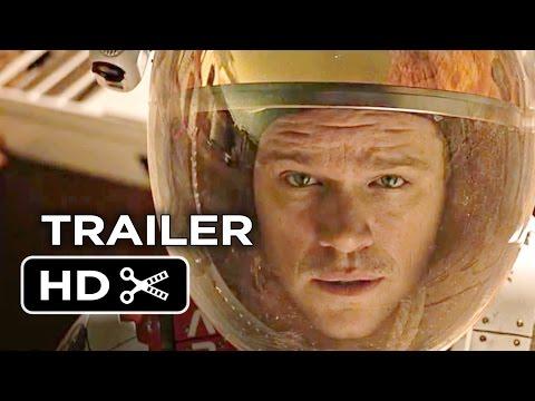 The Martian Official Trailer #1 (2015) - Matt Damon, Kristen Wiig Movie HD