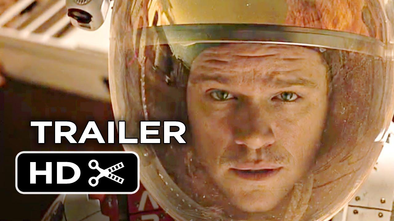 The Martian Official Trailer #1 (2015) – Matt Damon, Kristen Wiig Movie HD #Estrenos #Trailers