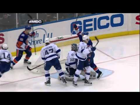 David Ullstrom First NHL Goal 12.06.2011      - YouTube