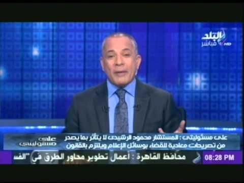 بالفيديو.. أحمد موسى: حمدين صباحي يستحق الحبس «فهو لم يشارك في ثورة 30 يونيو»