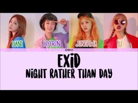 Video EXID - Night Rather Than Day [Han/Rom/Eng] Color Coded HD download in MP3, 3GP, MP4, WEBM, AVI, FLV January 2017