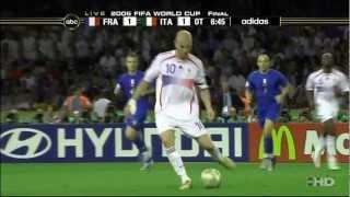 Zinedine Zidanes letztes Match gegen Italien