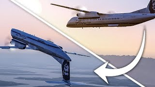 Video Stolen Aircraft Makes an Unauthorized Takeoff and Crashes into Seattle   Alaska Airlines Q400 MP3, 3GP, MP4, WEBM, AVI, FLV April 2019