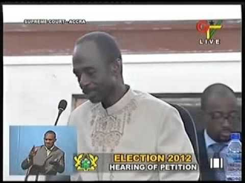 2012 Election Hearing Petition on Joy News  - Day 24 (29-5-13)