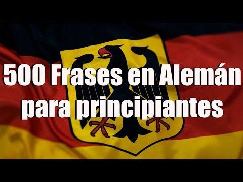 Frases de vida - Cursos de Alemán: Aprende 500 Frases en Alemán para principiantes (Frases de la vida cotidiana)