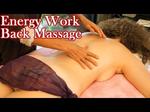 psychetruth - Friend us: https://www.facebook.com/psychetruthvideos HD Back Massage Energy Work Therapy Techniques, How To ASMR Relaxing Music Athena Jezik is a licensed m...
