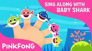 Shark Finger Family | Sing Along with Baby Shark | Pinkfong Songs for Children
