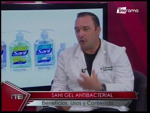 Sani Gel Antibacterial beneficios, usos y contenido