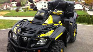 6. 2012 Can Am outlander 800 max xtp