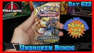 Pokemon Pack Daily UNBROKEN BONDS Booster Opening Day 622 - Featuring ThePokeCapital by ThePokeCapital