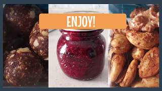 3 Energy Snack Recipes to Make at Home