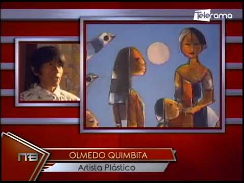 Olmedo Quimbita aperturó galería permanente en Cuenca