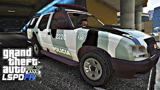 GTA V Rotina Policial: Mulher Rouba caminhão e tenta dar fuga da ROTAM e suspeito ataca policial e é morto Ep.128 Outras Series: Série GTA V Vida do Crime - ...