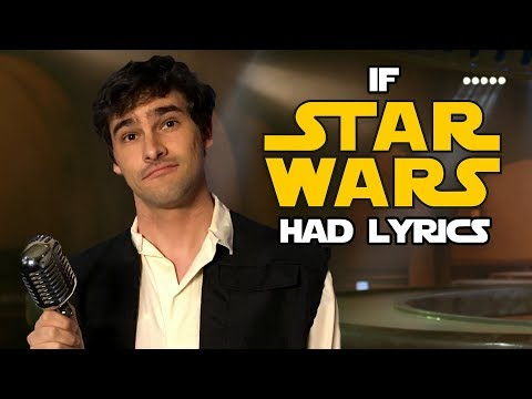 If The Star Wars Cantina Song Had Lyrics