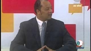 Carlos Soares na ULBRATV - Programa Informação com Cristina Mazzei