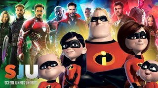 Can Incredibles 2 Take Down Avengers: Infinity War?? (FAN FRIDAY!) - SJU by Clevver Movies