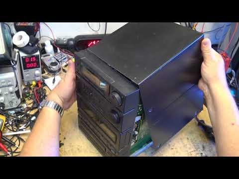 Panasonic SA CH 11 Bookshelf Stereo   Cassette and CD Repair