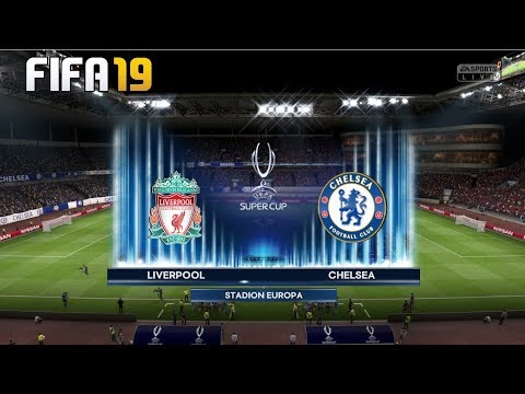 Liverpool Vs Chelsea! ⚽️ FIFA 19 PREDICTION ! UEFA SUPER CUP FINAL 2019🏆